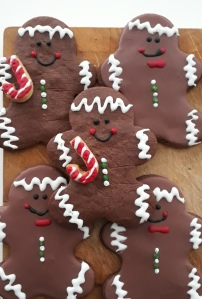 Gingerbread man bedankjes