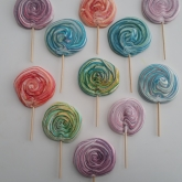 Merengue lollies (Gluten en lactosevrij)