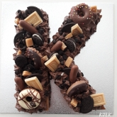 Koektaart Chocolade met Oreo en Caramel