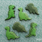 Dinosaurus koek