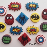Marvel thema koek