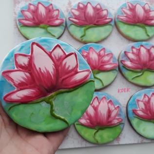 Bedankt koeken Lotus