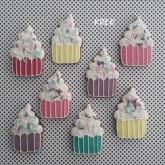 Cupcakekoekjes verjaardag