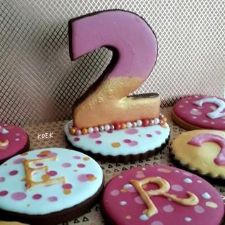 3d Koeken verjaardagstafel